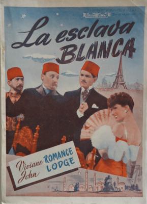 L'Esclave blanche - Poster Espagne