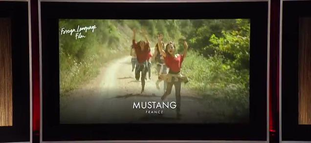 Mustang to represent France at the 2016 Oscars!