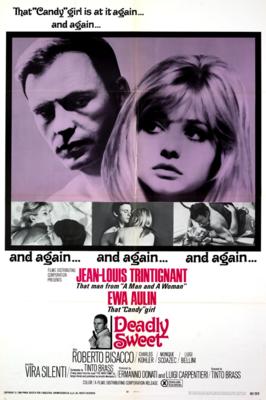 Dead Stop / Deadly Sweet - Poster Etats-Unis