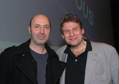 French touch in New York - Cedric Klapisch et Richard Pena - © David Godlis