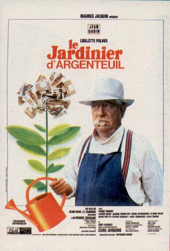 Le jardinier d 39 argenteuil 1966 unifrance films for Le jardinier
