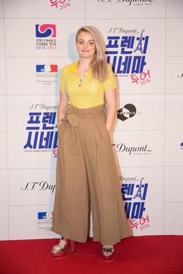 Premier Tour du Cinéma Français en Corée - Lou Roy-Lecollinet