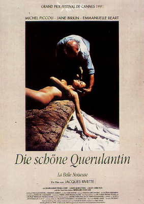 La Belle Noiseuse - Poster Allemagne