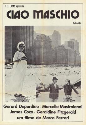 Adiós al macho - Poster Brésil