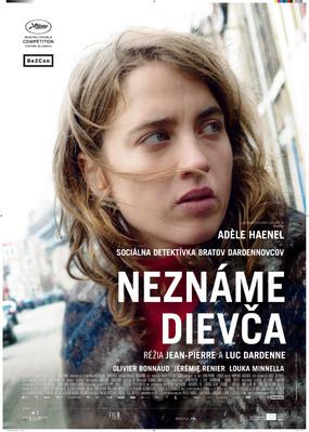La Fille inconnue - Poster - Slovakia