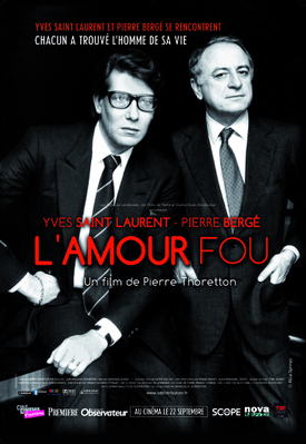 Yves Saint Laurent - Pierre Bergé, l'amour fou - Poster - France