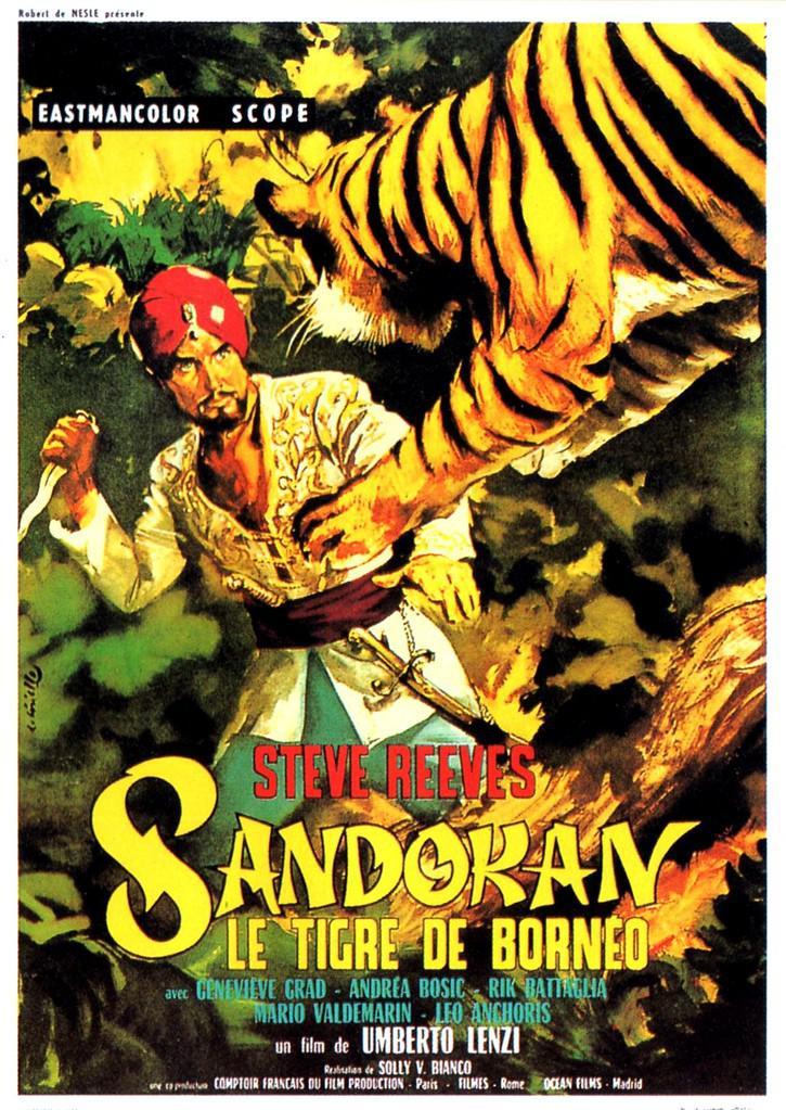 Sandokan et le tigre de Bornéo de Umberto Lenzi (1963