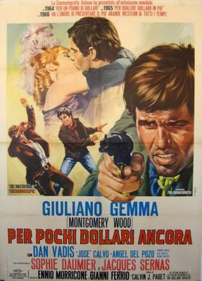 For a Few Extra Dollars  - Poster - Italy