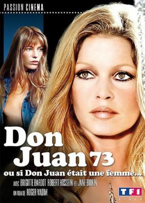 Don Juan 1973 ou Si Don Juan était une femme... - Jaquette DVD