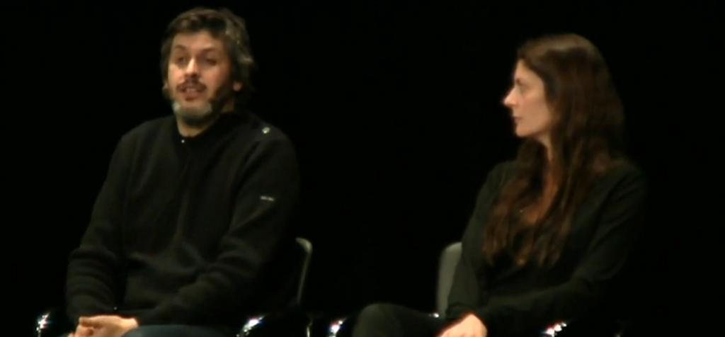 Chiara Mastroianni and Christophe Honoré in New York