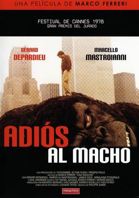 Adiós al macho - Jaquette DVD Espagne