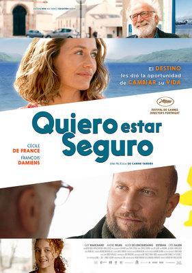 Quiero estar seguro - Poster - Mexico