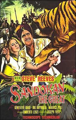 Sandokan et le tigre de Bornéo