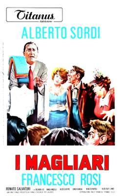 Profession : Magliari - Poster - Italy