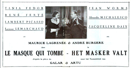 Le Masque qui tombe