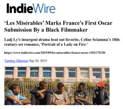 Revue de presse - Octobre 2019
