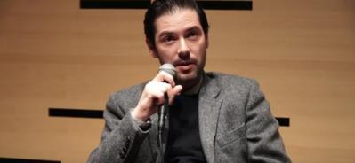 Melvil Poupaud au Lincoln Center, New York, Mars 2016