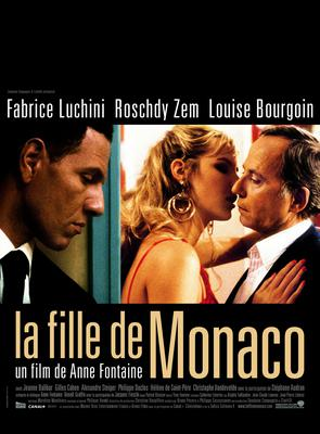 The Girl from Monaco - Poster - France