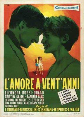 L'Amour à vingt ans - Poster Italie