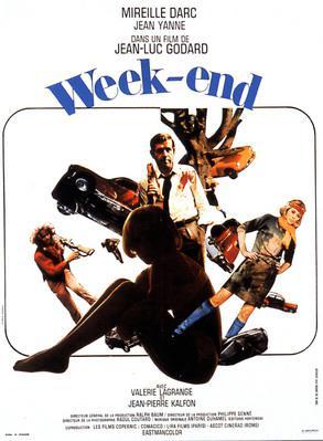 Week-end - Poster France