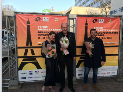 Efeméride: 9.ª edición del Cine Francés de Hoy en Kazajistán - Soirée d'ouverture - © UniFrance