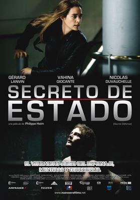 Secret défense (P.Haïm) - Poster - Mexique