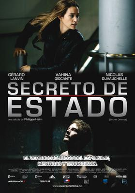 Secretos de Estado - Poster - Mexique