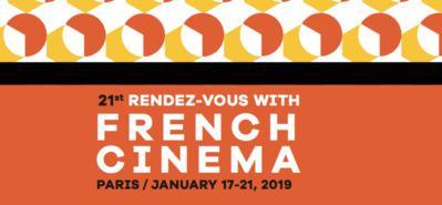 UniFrance presenta los 21° Rendez-Vous del Cine Francés en París