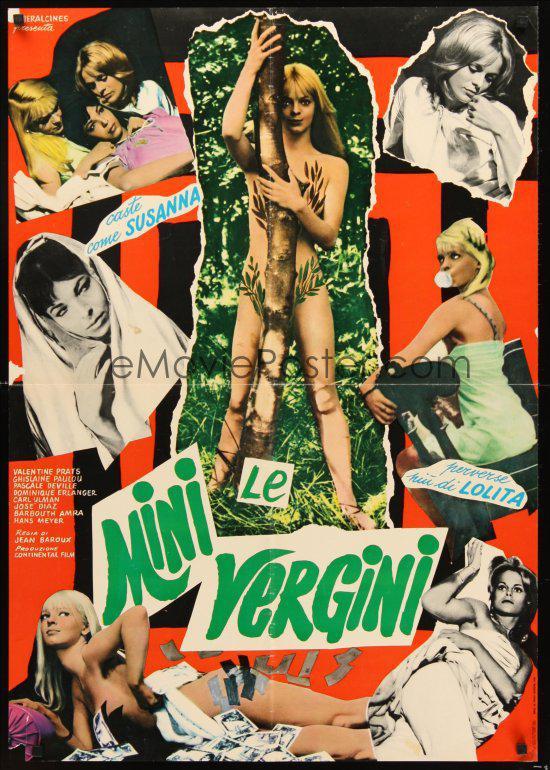 Valentine Pratz - Poster Italie