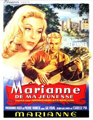 Marianne of My Youth - Poster Belgique