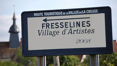 Fresselines village d'artistes