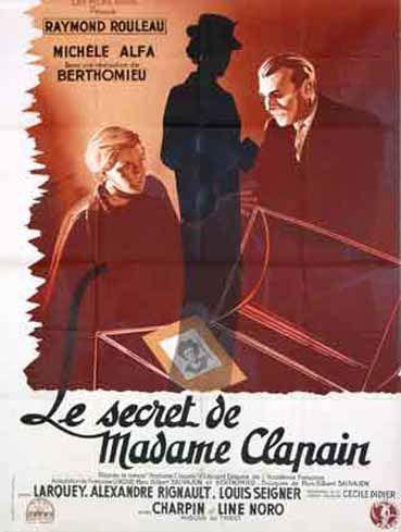 Le Secret de Madame Clapain