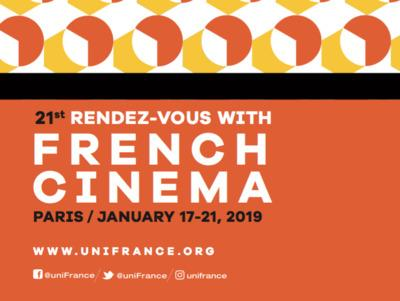 UniFrance presents the 21st Rendez-Vous with French Cinema in Paris