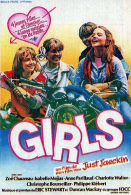 Cuatro chicas - Poster Belgique