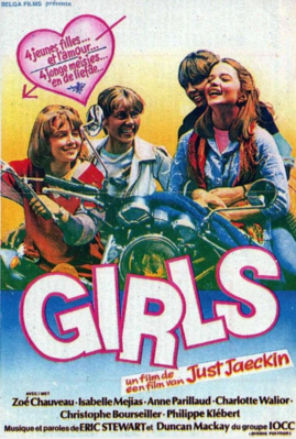Girls - Poster Belgique