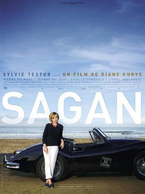 Françoise Sagan - Poster - France