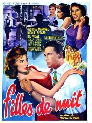 Las Hijas de la noche - Poster - Belgique