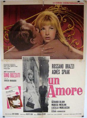 Un amore - Poster - Italy