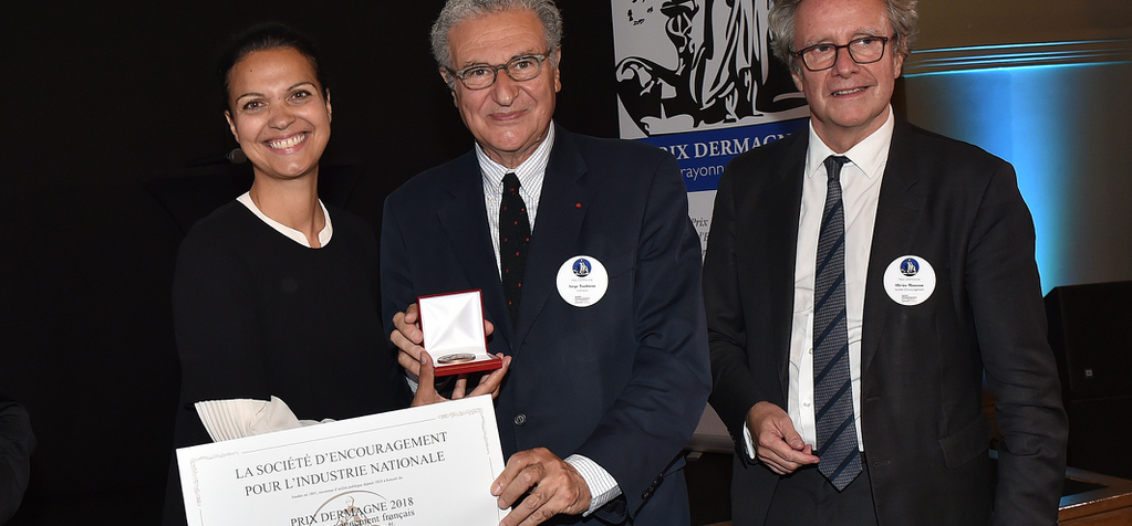 UniFrance awarded the Dermagne Prize for advancing the profile of France