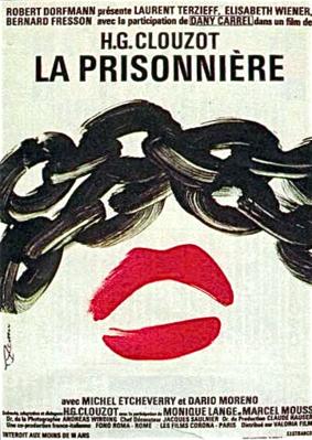 La Prisonnière - Affiche française