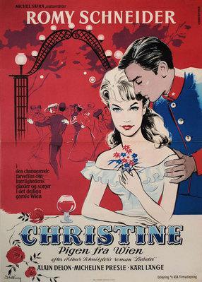 Christine - Poster Danemark