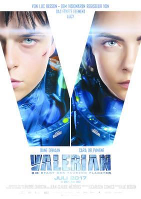 Valerian y la Ciudad de los Mil Planetas - Poster - Germany