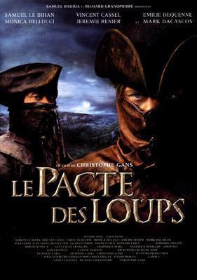Le Pacte des loups - Poster France