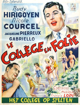 School of Folly - Poster Belgique