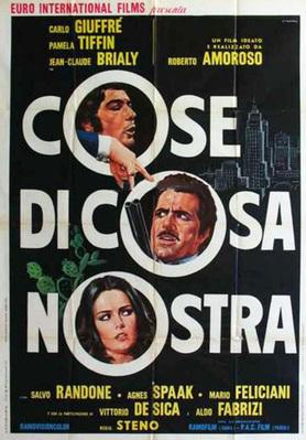Comment entrer dans la mafia - Poster Italie
