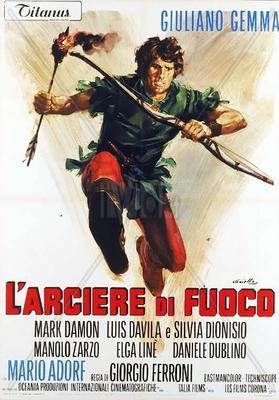 El Arquero de Sherwood - Poster - Italy