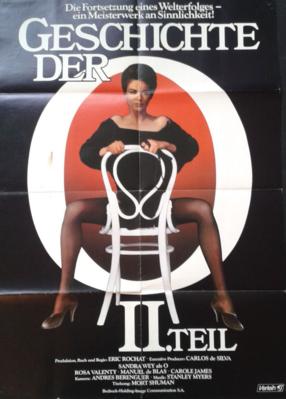 Histoire d'O numéro 2 - Poster Allemagne
