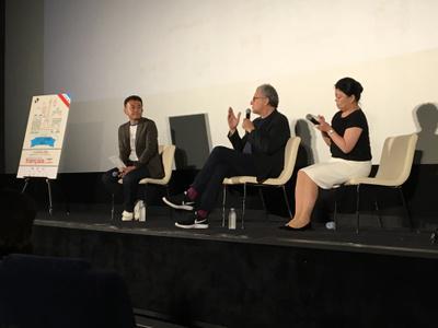 22 de junio, 2° día del Festival - Serge Toubiana parle de JLG après la projection du Redoutable