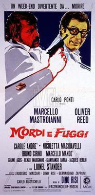 Rapt à l'italienne - Poster Italie