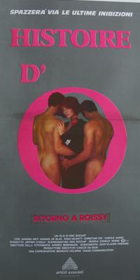 Histoire d'O numéro 2 - Poster Italie